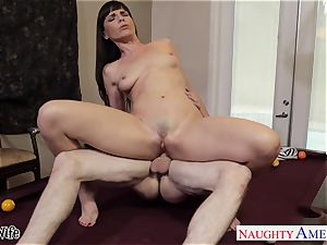 Lusty Dana DeArmond takes his fat stream on her pretty face