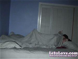 Lelu Love-Sneaky roomy glazed hook-up