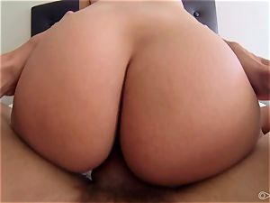 Anissa Kate having her unshaved lil' cooter drilled