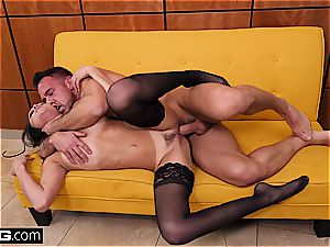 High class hotty Ariana Marie gets pounded superb in undergarments