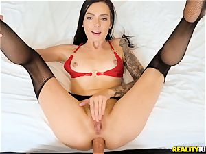 Marley Brinx boinked in her ass hole
