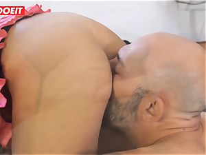 casting rump banging with splooging Romanian babe
