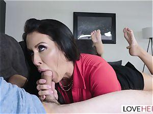 LoveHerFeet - Stepson porks His Stepmom On The couch