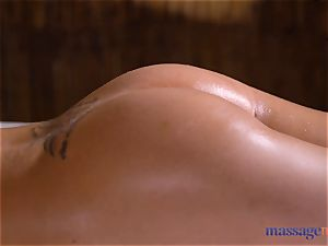 massage rooms Amirah Adara and Nathaly Cherie magnificent massage