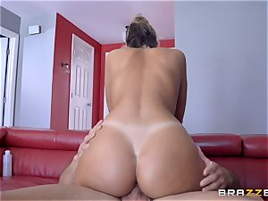 oiled up August Ames