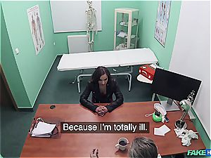 Hidden cam fucky-fucky in the doctors office