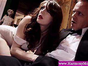 Servants giving a sexshow for their deviant tutors