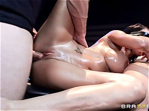 pipe crazy Peta Jensen gets shafted from both completes