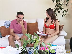 Valentina Nappi gets a lesson in manners