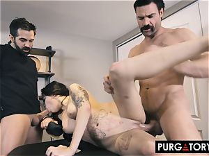 PURGATORY I let my wife pulverize 2 studs in front of me
