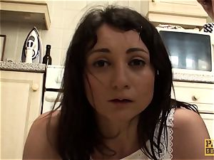 mischievous subslut blows a load firm from screwing