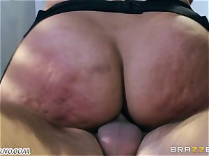 My dear helper Bridgette B with yam-sized breasts