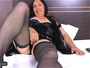 AgedLovE crazy Mature Latina woman hard-core fuck-fest