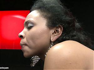 super hot Kathia Nobili luvs fucking her partners vulva rock-hard from behind