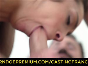 audition FRANCAIS - fledgling hottie banged and jism facialed