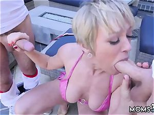 hard-core suck off very first time She deep-throats both of them off at the same time before going back