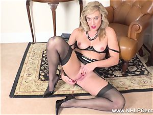 towheaded finger plumbs raw puss in girdle antique nylons