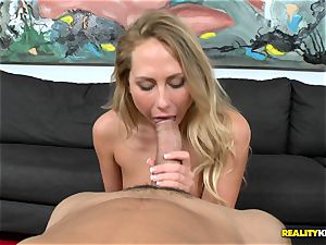 Carter Cruise gets her hatch round a monster