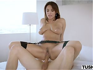 TUSHY fabulous French woman luvs ass fucking