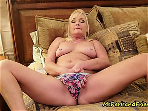 mother Plays with Herself The Has urinate urinate have fun Time