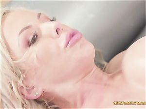 Nina Elle Gives brilliant Nuru massage With intercourse