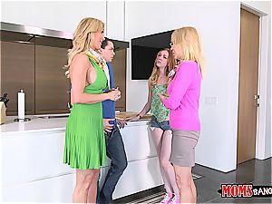 super-naughty milf boinking her daughter's boyfriend