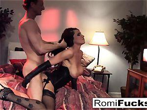 Businessman observes Vampire video then romps an call girl