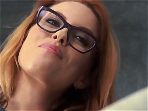 fresh instructor Britney Amber tears up for her job