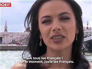 LETSDOEIT - Romanian bombshell Creamed By a French schlong