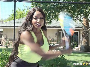 Nikki Benz and Diamond Jackson three way
