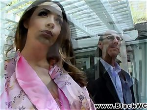 Chanel Preston drilled and facialised by Lexinton Steele
