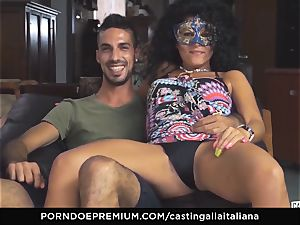 casting ALLA ITALIANA inexperienced busts in rectal nail