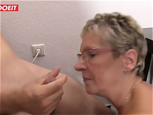 LETSDOEIT - grandmother Gets cooter stuffed With youthfull hard-on