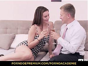 pornography ACADEMIE - college girl Lana Rhoades home screwing