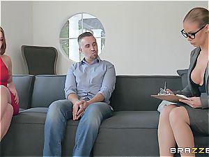 super-naughty psychologist takes advantage of clients spouse