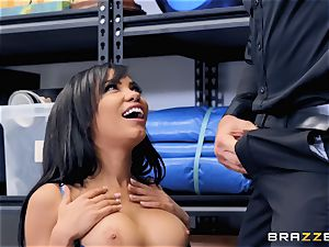 Shay Evans getting finger humped