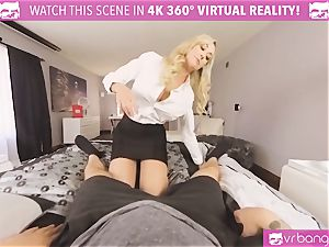 VRBangers.com-MILF is jamming a hitachi in her cooter