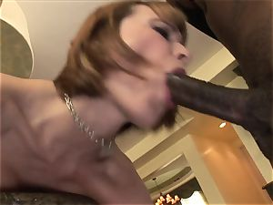 ginger-haired With Braces big black cock ass fucking