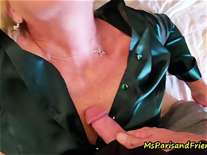 jaw-dropping Satin experiences with Ms Paris Rose